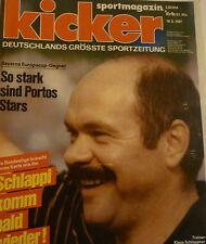 Kicker 1987 , Nr.42 , Titelstory SV Waldhof Mannheim