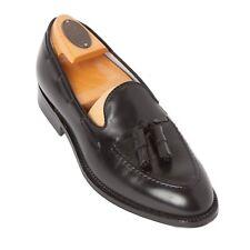 Alden 660 Black Calfskin Tassel Mens Dress Shoes Loafer Aberdeen Last Sz 10 AA/B
