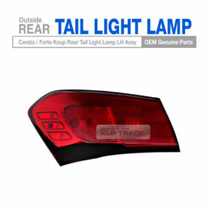 OEM Parts Rear Tail Light Lamp LH Outside For KIA 2014-2017 Cerato Forte Koup 2D