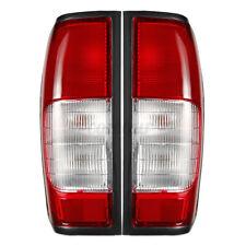 Pair Left&Right Tail Light Brake Lamp For Nissan Navara D22 D23 Pickup 1998-2004
