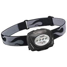 Princeton Tec Quad Headlamp Ultrabright LED Torch Running Climbing Black Case