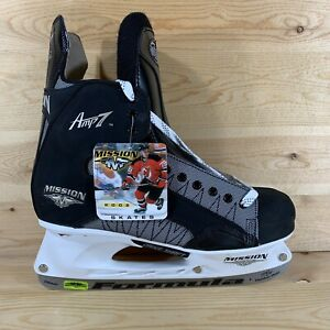 NIB Mission Amp 7 S Series Ice Hockey Skate Men's Size 13 Stiffness Rated 5.5