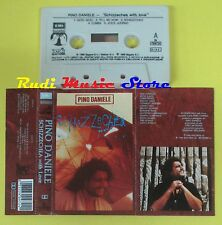 MC PINO DANIELE Schizzechea with love 1988 italy EMI 64 7909724 no cd lp dvd vhs