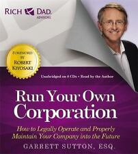 Run Your Own Corporation: How Legally Operate & Maintain Your Company CD-Audio