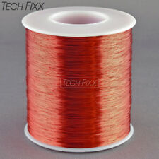 Magnet Wire 31 Gauge AWG Enameled Copper 3450 Feet Coil Winding and Crafts Red