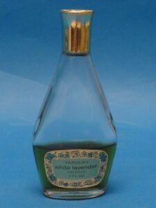 Vintage Yardley White Lavender Cologne 2 oz * RARE