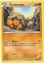 Crabicoque - N&B:Frontieres Franchies - 84/149 - Carte Pokemon Neuve Française
