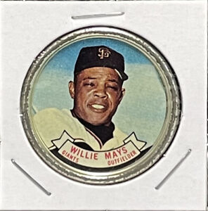 Willie Mays - 1964 - S. F. Giants - Baseball Coin # 80