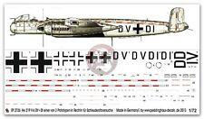 Peddinghaus 1/72 He 219 A-0 V6 Markings Ejection Seat Test Plane Rechlin 2726