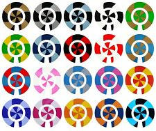 ACCLAIM Self Adhesive Spiral Bowls Bowlers Stickers Sets Of 4 Self Adhesive