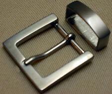 Fibbia cintura + passante per cintura larghezza: 3cm METALLO ARGENTO MATT semplicemente elegante #