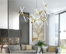 Modern Metal Chandelier 20Light Glass Tree Branch Pendant Lamp Ceiling Fixtures