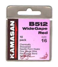 Kamasan B982 Eyed Barbed Specimen X Strong 10 Hooks Per Pk Coarse Carp Fishing