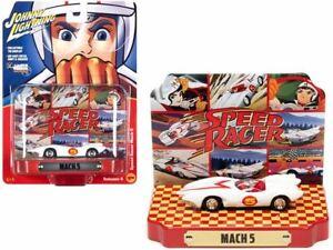1:64 Speed Racer w/Collectible Tin Display -- Mach 5 -- Auto World