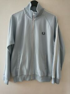mens fred perry track jacket top size L