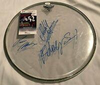 Scorpions Signed Remo Drumhead W/ JSA Cert COA #2