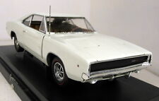 Ertl 1/18 Scale - 36512 1968 Dodge Charger R/T White diecast model car