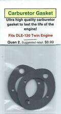DLE-120 Twin Carburetor/Intake Gasket 2 Pack NIP