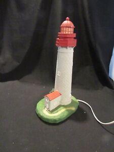 Cape May NJ Nautical Marine Resin Night Light Lighthouse Figurine Table Lamp