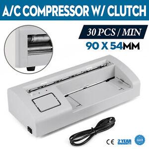 Automatic A4 Name Card Cutter Electric Business Card Cutting Machine 90*54mm UK