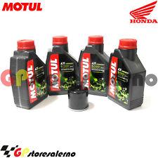 TAGLIANDO OLIO + FILTRO MOTUL 5100 10W30 HONDA 600 CBR RA 2015