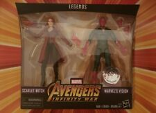 NEW Marvel Legends Infinity War Toys R Us Exclusive Vision Scarlet Witch 2 pack