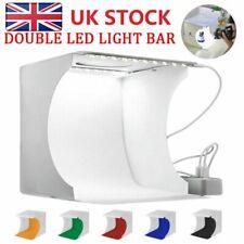 Photo Studio Lighting Mini Box Photography Backdrop LED Light Room Tent 🔥UK