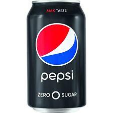 Pepsi Max Drink 12oz. 12/PK Black/Blue 102982