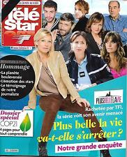 TELE STAR N°2043 28 NOVEMBRE 2015  PLUS BELLE LA VIE/ ATTENTATS A PARIS/ COP21