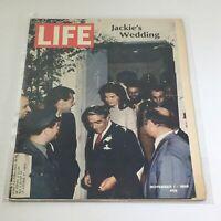 VTG Life Magazine: November 1 1968 - Jackie Kennedy Onassis Wedding on Cover