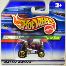 HOT WHEELS 1999 TREASURE HUNT SERIES EXPRESS LANE SHORT CARD W+