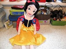 "Walt Disney Store Original - Snow White ~ 19"" Plush Doll"