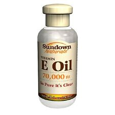 Sundown Naturals Pure Vitamin E Oil, 70000 IU 2.5 fl oz