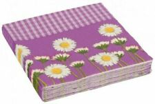 Amscan International Daisy Purple Luncheon Napkins Pack Of 20