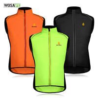 Summer Mens Cycling Vest Bicycle Outdoor Sports Wind Vest MTB Sleeveless Gilet