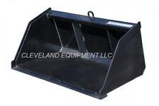 New 52 Mini Bulk Material Snow Mulch Bucket For Bobcat Mt55 Mt85 Mt100 463 S70