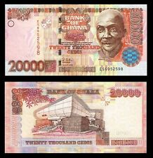 Ghana 20,000 Cedis 2003 P36b UNC