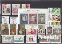 Briefmarken Liechtenstein postfrisch 1988 kompletter Jahrgang Liechtenstein xx 1