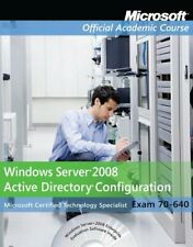 Exam 70-640 Windows Server 2008 Active Dire... by Microsoft Official A Paperback
