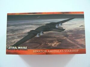 ** TOPPS STAR WARS ATTACK OF THE CLONES WIDEVISION TRADING CARD SET **