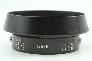 🔹N MINT🔹 Leitz Leica 12585 Metal Lens Hood M 50mm 35mm f2 f2.8 f3.5 from Japan