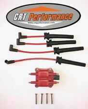 2002-2008 Mini Cooper Tune Up Powerboost Kit, 40K Coil + 8Mm Red Plug Wires Usa