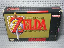 Zelda Ist Verbindung bis The Past - Super Nintendo Snes - Version US -