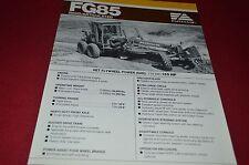 Fiat Allis FG85 Motor Grader Brochure DCPA6 Ver3