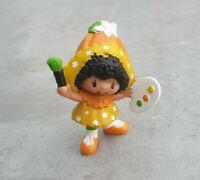 Vintage 1981 Strawberry Shortcake Orange Blossom With Paint Brush Mini Figure
