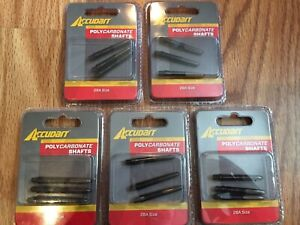 15-Pack AccuDart Polycarbonate Shafts 2BA Size