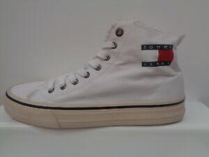 Tommy Jeans High Top Sneaker Mens UK 10.5 EU 45 US 11.5 Ref M978^