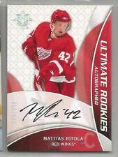2008-09 Ultimate Collection Hockey Mattias Ritola Rookie Auto Card # 305/399