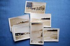 Lot of Photos from 1929 of Niagra Falls, Mackinac Island & More