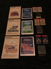 SPACE SPARTANS/B-17 BOMBERS/BOMB SQUAD INTELLIVOICE GAMES-INTELLIVISION,COMPLETE